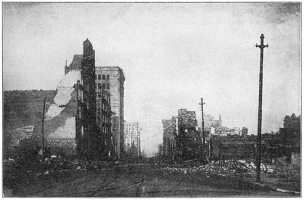 San Francisco Earthquake: Mission Street