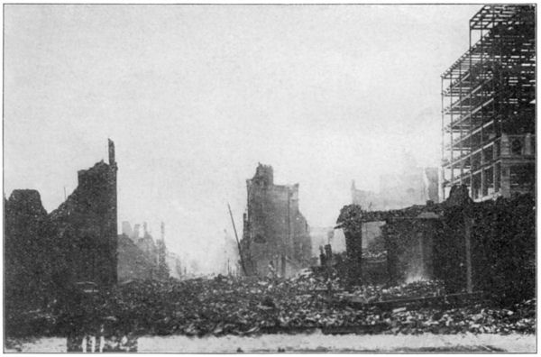 San Francisco Earthquake: O'Farrell Street