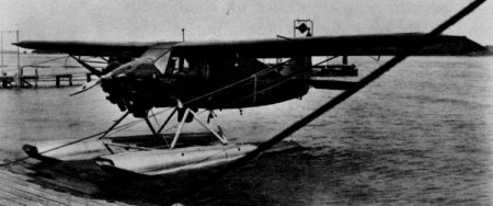 "Packard-Bellanca ""Pacemaker"" owned by Transamerican Airlines Corporation and used by Parker D. Cramer, pilot, and Oliver L. Paquette, radio operator, in their flight from Detroit, Michigan, to Lerwick, Shetland Islands, summer 1931."