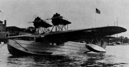 Towle TA-3 Flying Boat, 1930, with 2 Packard 225-hp DR-980 diesel engines.