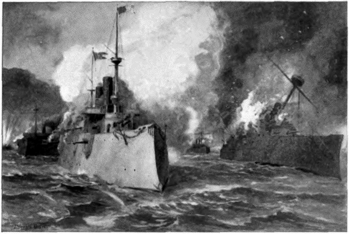 THE BATTLE OF MANILA BAY.
