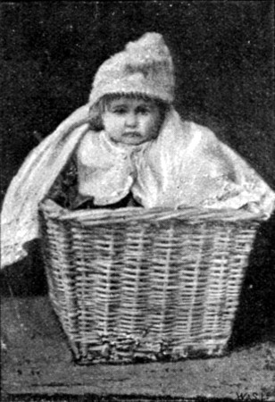 An Orphan Dropped off at Dr. Barnardo's Orphanage