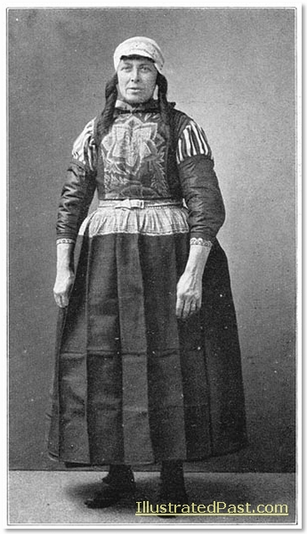 Woman in Full Costume