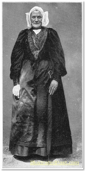 Dutch Woman With Square Cap