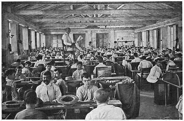 Workers at a Cigar Factory