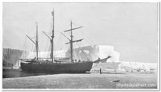 Amundsen's Ship Arrives in Antarctica