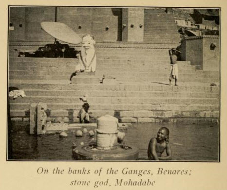 The Bank of the Ganges, the Holiest River in India