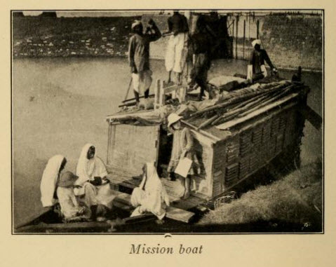 Boat used by the Christian missionaries